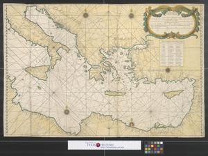 Primary view of Nouvelle carte de la mer Mediterranee [Sheet 2].