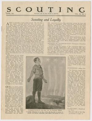 Scouting, Volume 9, Number 6, June 1921
