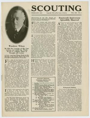 Scouting, Volume 12, Number 2, February 1924