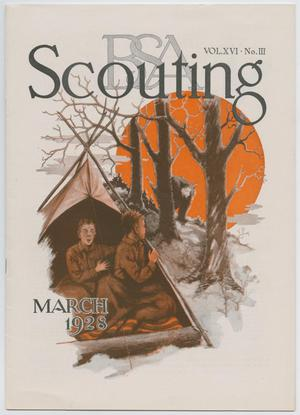 Primary view of object titled 'Scouting, Volume 16, Number 3, March 1928'.