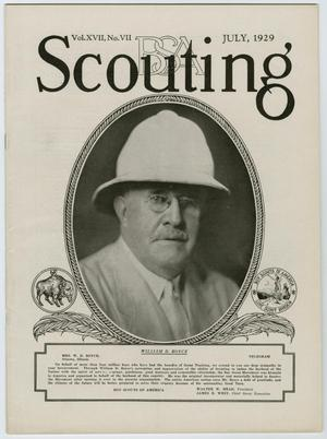 Primary view of object titled 'Scouting, Volume 17, Number 7, July 1929'.