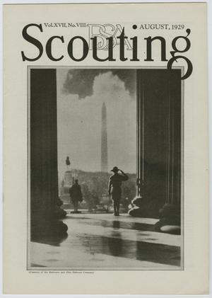 Primary view of object titled 'Scouting, Volume 17, Number 8, August 1929'.