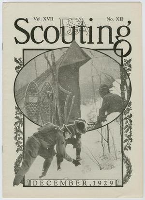 Primary view of object titled 'Scouting, Volume 17, Number 12, December 1929'.