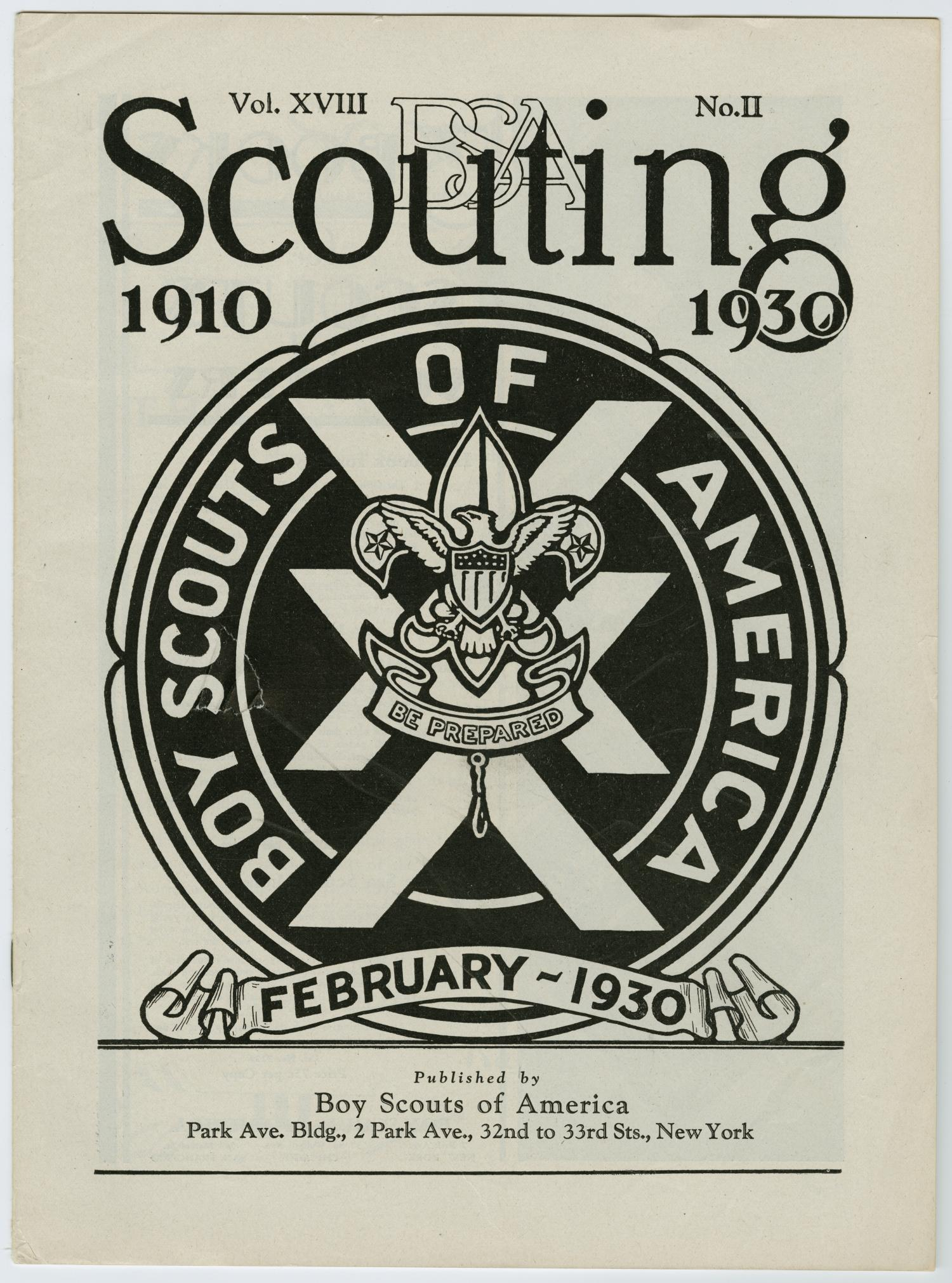 Scouting, Volume 18, Number 2, February 1930                                                                                                      33