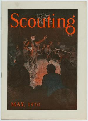 Primary view of object titled 'Scouting, Volume 18, Number 5, May 1930'.