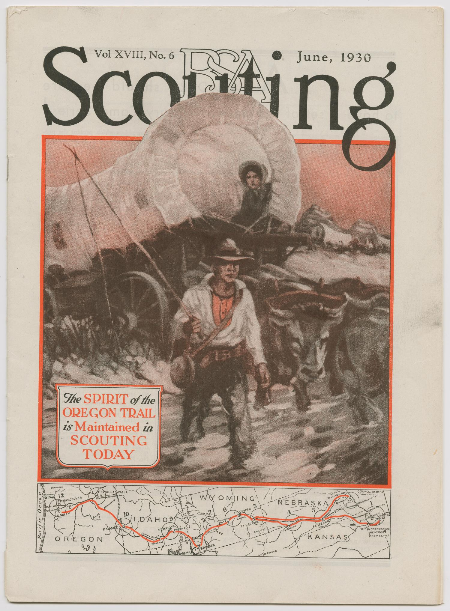 Scouting, Volume 18, Number 6, June 1930                                                                                                      145