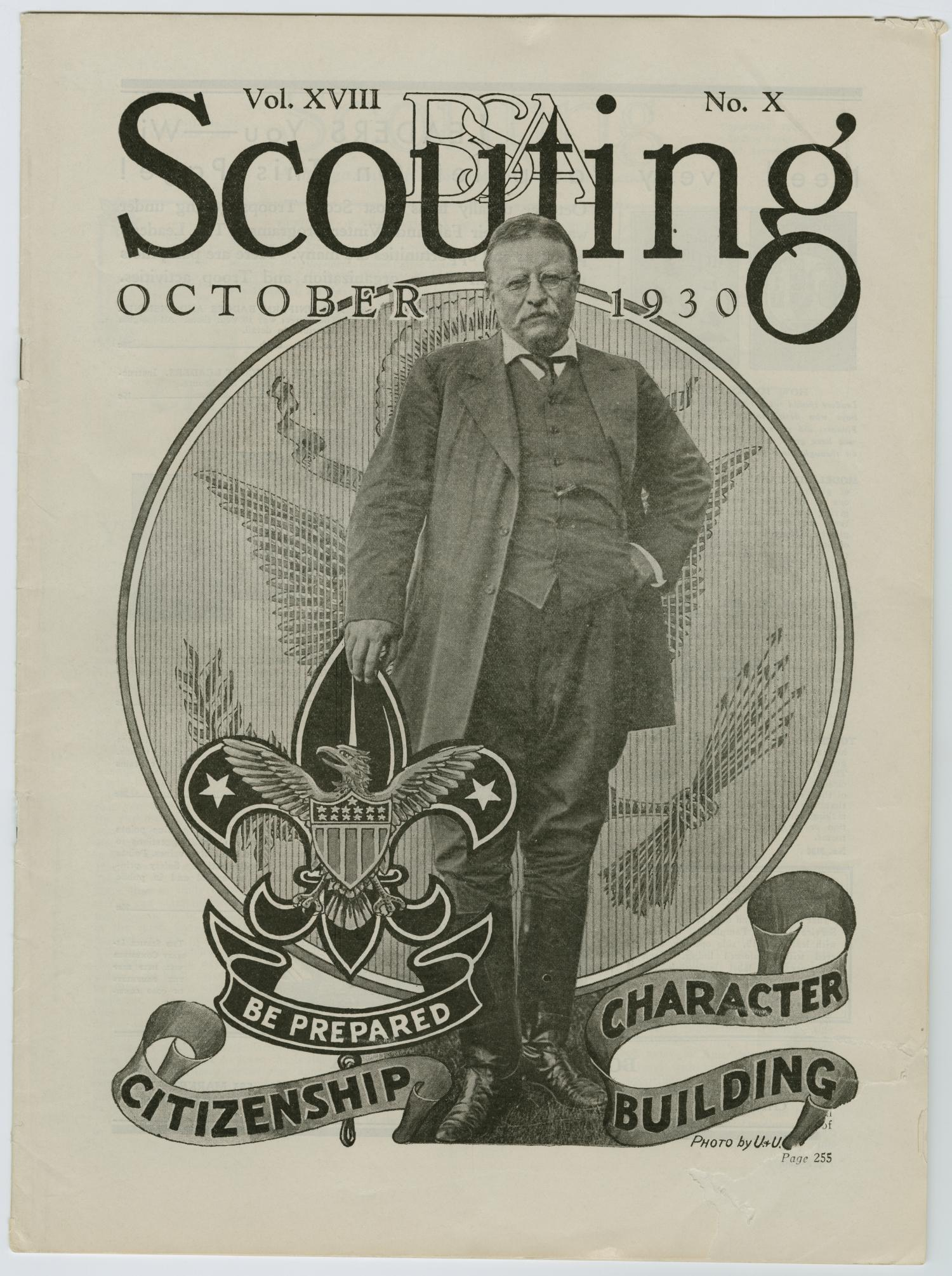 Scouting, Volume 18, Number 10, October 1930                                                                                                      253