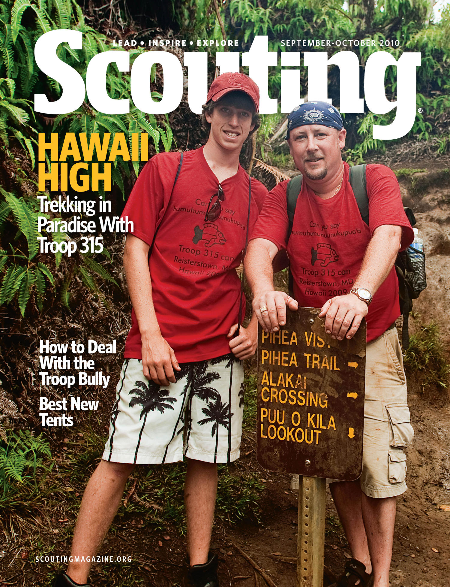 Scouting, Volume 98, Number 4, September-October 2010                                                                                                      Front Cover