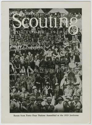 Primary view of object titled 'Scouting, Volume 17, Number 10, October 1929'.