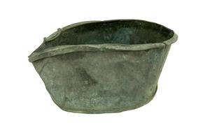 Primary view of object titled 'Copper kettle'.