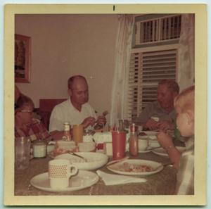 [Tarver Family Dinner, Christmas 1968]