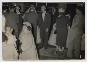 [Guests at Wedding of Wendell and Mary Jane Tarver]
