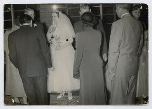 [Reception Line at Wedding of Wendell and Mary Jane Tarver]