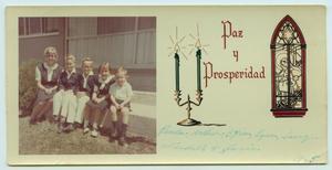 [Tarver Family Christmas Card, 1965]