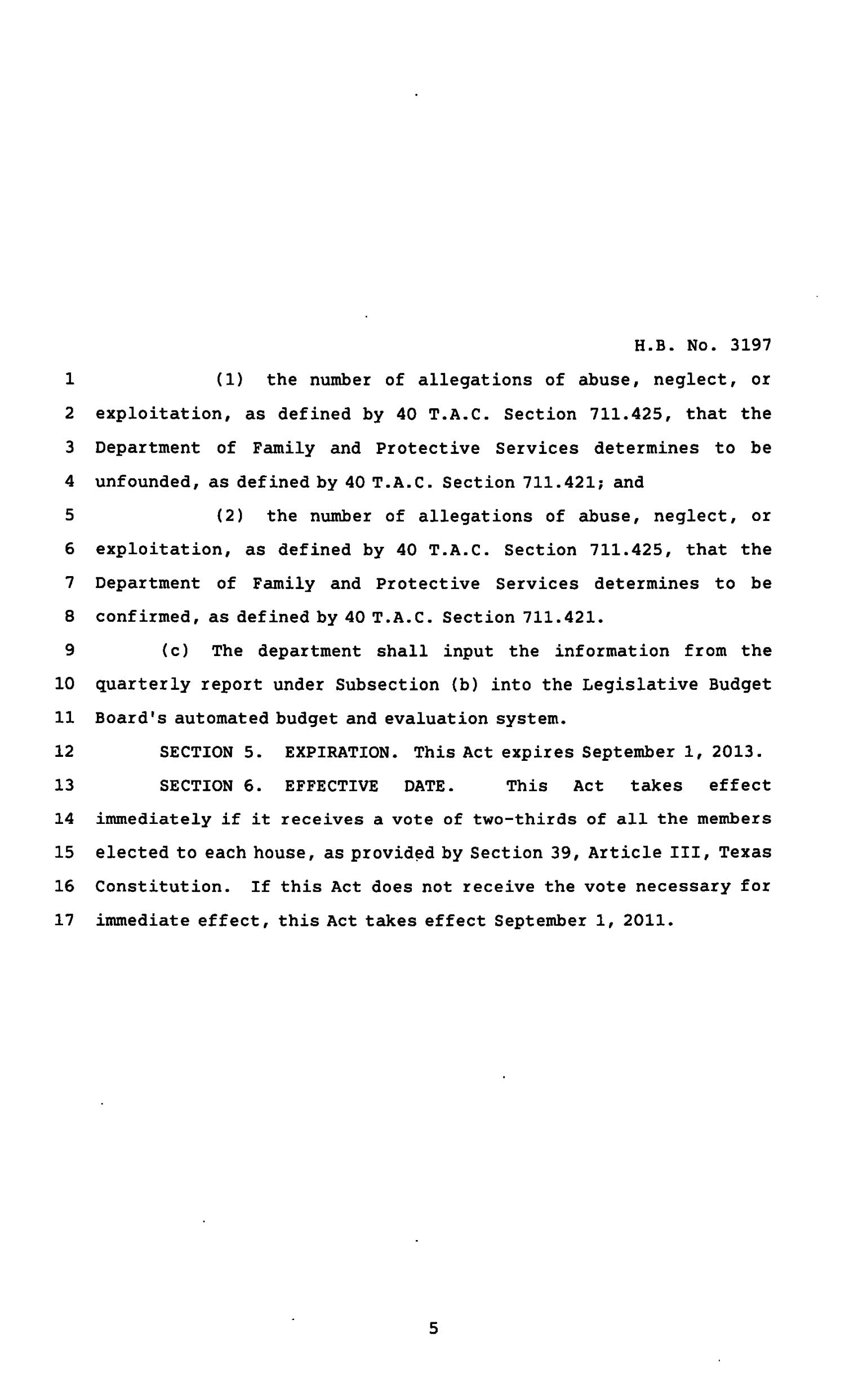 82nd Texas Legislature, Regular Session, House Bill 3197, Chapter 1174                                                                                                      [Sequence #]: 5 of 6