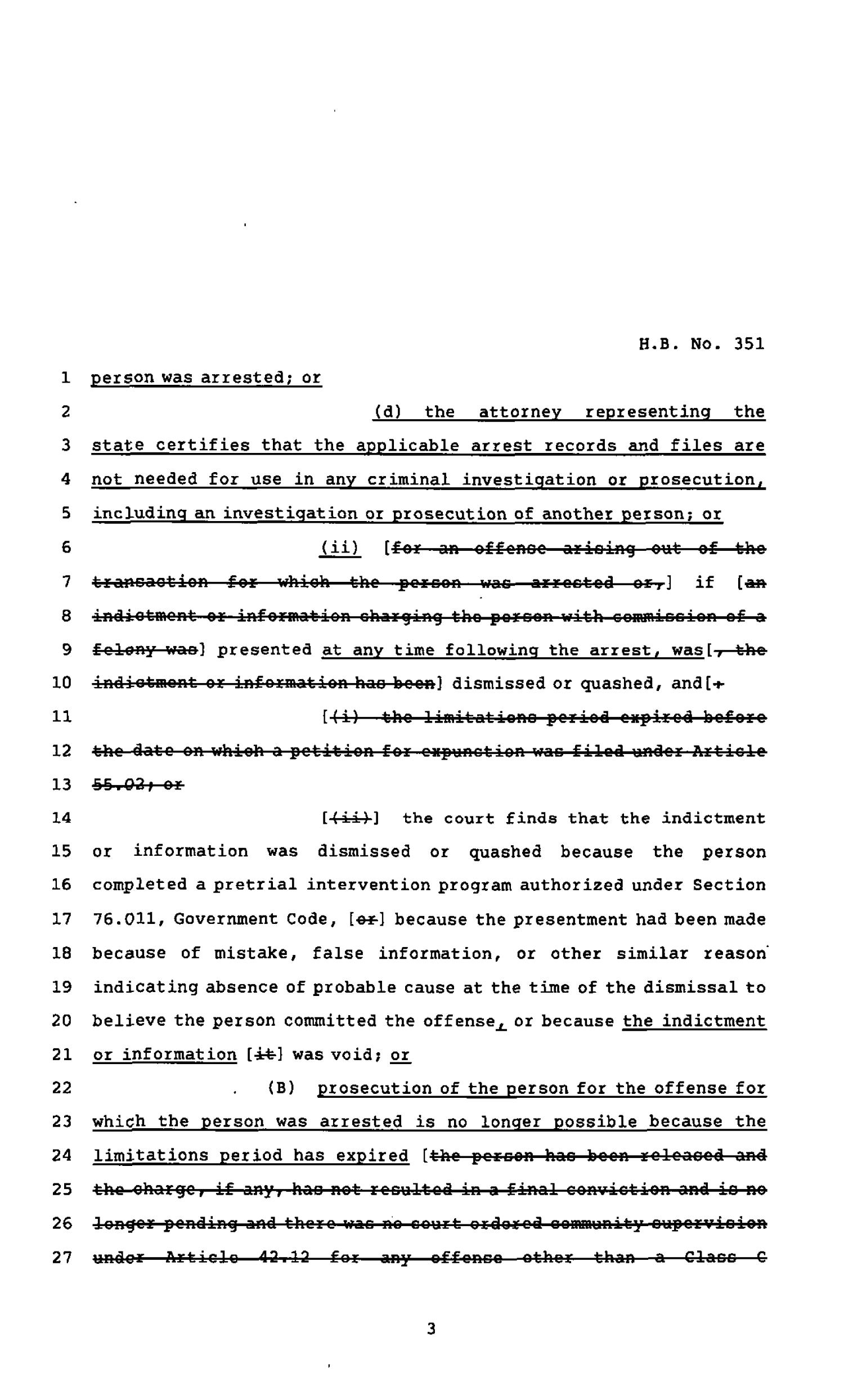 82nd Texas Legislature, Regular Session, House Bill 351, Chapter 690                                                                                                      [Sequence #]: 3 of 11