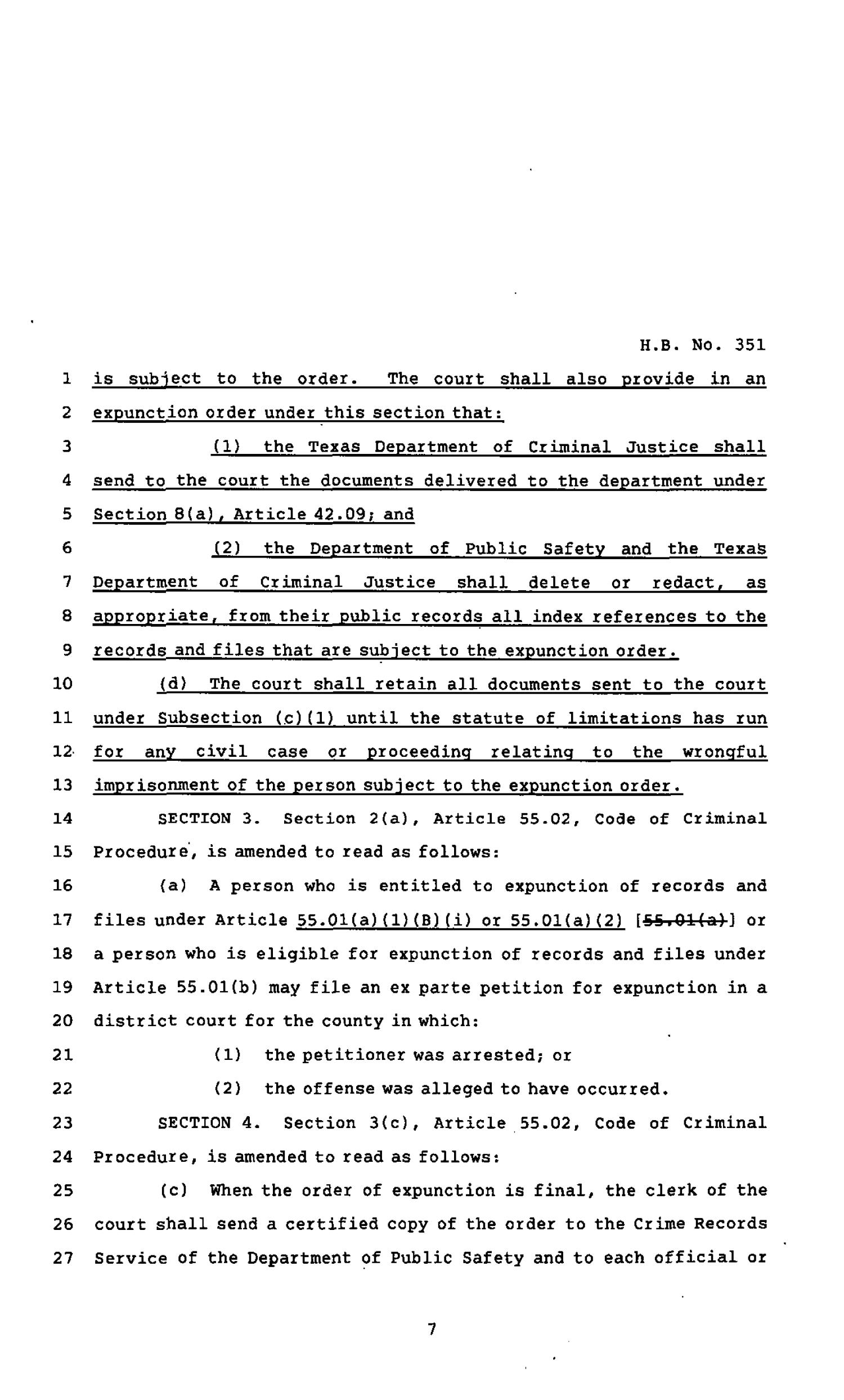 82nd Texas Legislature, Regular Session, House Bill 351, Chapter 690                                                                                                      [Sequence #]: 7 of 11
