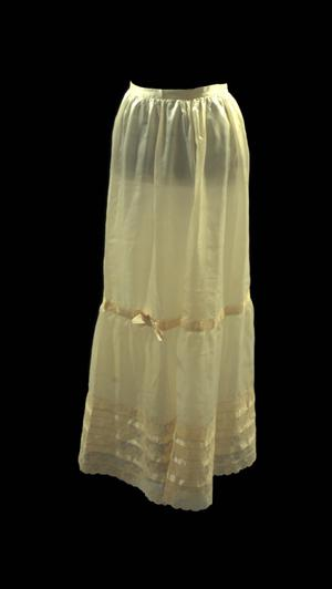 Primary view of object titled 'Petticoat'.