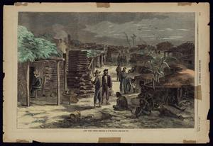Primary view of object titled '[Harper's Weekly: Camp Ford, Texas Sketch]'.