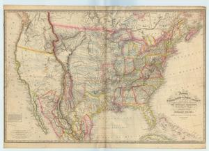 Primary view of object titled 'Fredonia or the United States of North America; including also Cabotia, or the Canadian Provinces; the Western Territory to the Pacific Ocean; and the northern part of the Mexican States.'.