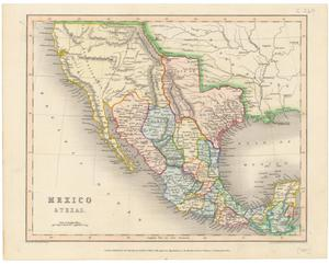 Primary view of object titled 'Mexico & Texas.'.