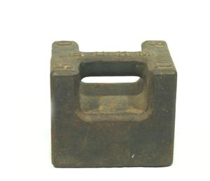Primary view of object titled 'Balance weight'.