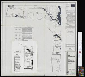Primary view of object titled 'Flood Insurance Rate Map: City of Dallas, Texas, Dallas, Denton, Collin, Rockwall and Kaufman Counties, Panel 25 of 235.'.
