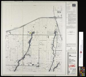 Primary view of object titled 'Flood Insurance Rate Map: City of Dallas, Texas, Dallas, Denton, Collin, Rockwall and Kaufman Counties, Panel 55 of 235.'.
