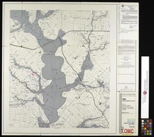Primary view of object titled 'Flood Insurance Rate Map: City of Dallas, Texas, Dallas, Denton, Collin, Rockwall and Kaufman Counties, Panel 100 of 235.'.