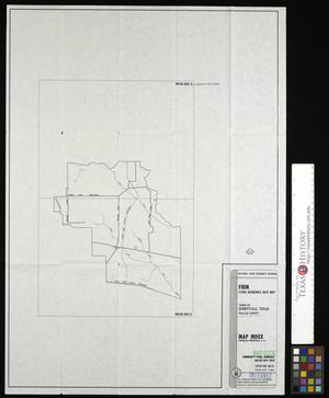 Primary view of object titled 'Flood Insurance Rate Map: Town of Sunnyvale, Texas, Dallas, County. Map Index.'.