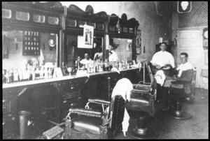 Newt Harris Barber Shop, Richardson, Texas