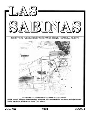 Las Sabinas, Volume 19, Number, 4 October 1993