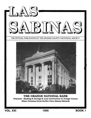 Las Sabinas, Volume 21, Number 1, January 1995