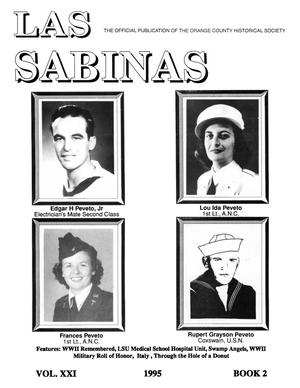 Las Sabinas, Volume 21, Number 2, April 1995