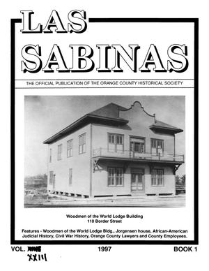 Las Sabinas, Volume 23, Number 1, January 1997