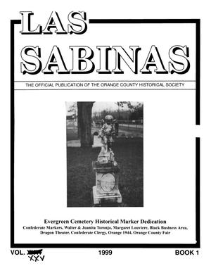 Las Sabinas, Volume 25, Number 1, January 1999