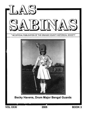 Primary view of object titled 'Las Sabinas, Volume 31, Number 3, 2005'.