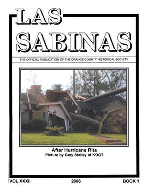 Primary view of object titled 'Las Sabinas, Volume 32, Number 1, 2006'.