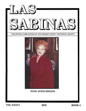 Primary view of object titled 'Las Sabinas, Volume 36, Number 4, 2010'.