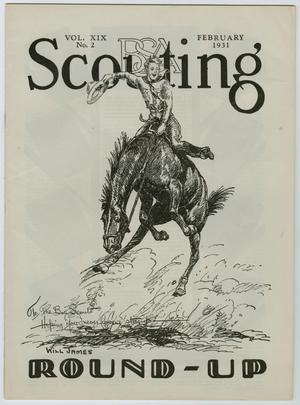 Primary view of Scouting, Volume 19, Number 2, February 1931