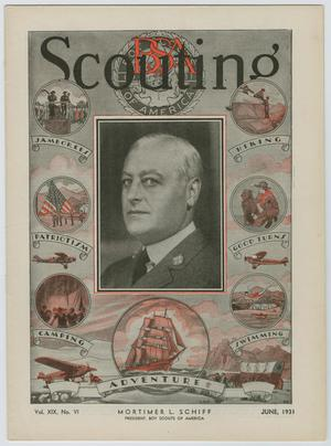 Primary view of object titled 'Scouting, Volume 19, Number 6, June 1931'.