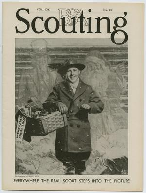 Primary view of object titled 'Scouting, Volume 19, Number 12, December 1931'.