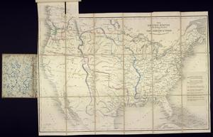 "Primary view of object titled '""The United States & the Relative Position of the Oregon and Texas""'."