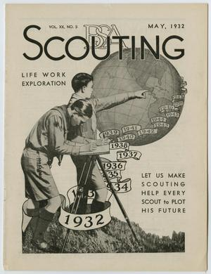 Primary view of object titled 'Scouting, Volume 20, Number 5, May 1932'.