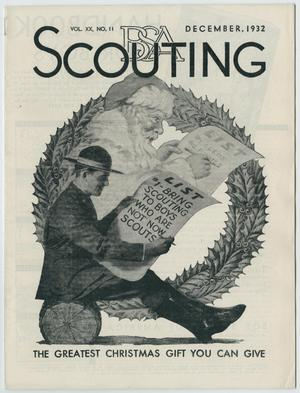 Primary view of object titled 'Scouting, Volume 20, Number 11, December 1932'.