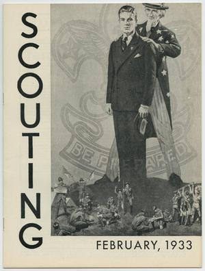 Primary view of object titled 'Scouting, Volume 21, Number 2, February 1933'.