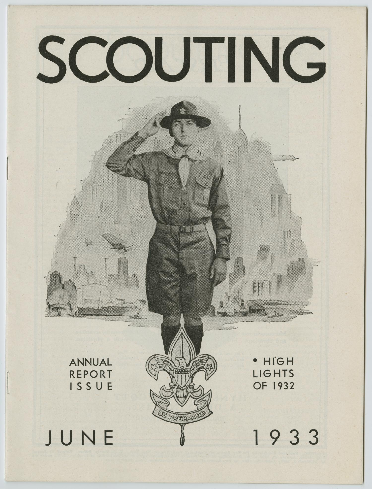Scouting, Volume 21, Number 6, June 1933                                                                                                      1