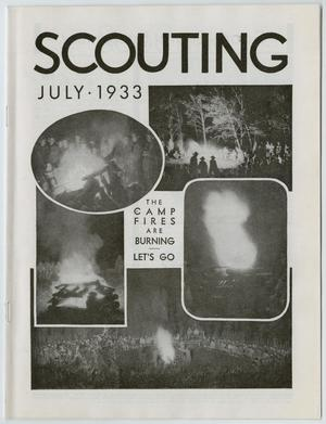 Scouting, Volume 21, Number 7, July 1933
