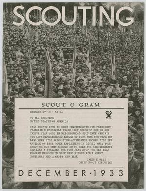 Primary view of object titled 'Scouting, Volume 21, Number 11, December 1933'.