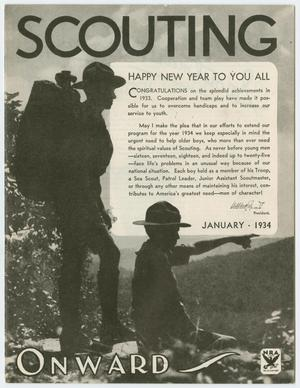 Scouting, Volume 22, Number 1, January 1934